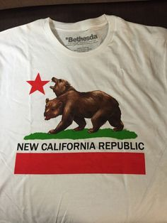 Living in California I get a lot of weird looks when I wear this shirt.