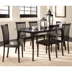 Coaster Ludwin 7Pcs Dining Set in Cappuccino