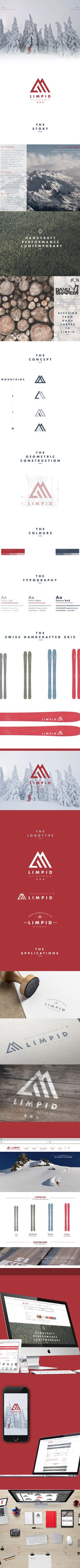 Skis on Adweek Talent Gallery Corporate Design, Corporate Branding, Graphic Design Typography, Logo Branding, Identity Design, Brochure Design, Visual Identity, Brand Identity, Logo Ski