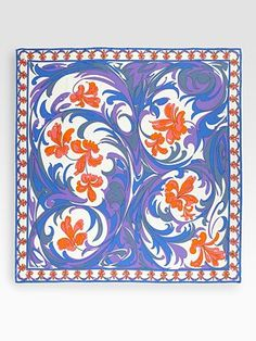 This Emilio Pucci scarf reminds us of the Italian Riviera....
