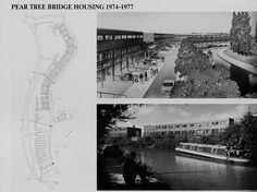 Canal Side Housing, Milton Keynes by MKDC Architects Image Chart, Postwar, Milton Keynes, The Other Side, Architects, Buildings, Photo Wall, Magic, City