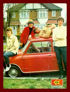 made in the sixties Classic Mini, Classic Cars, Classic Rock, Beatles, The Spencer Davis Group, Celebridades Fashion, Jack Bruce, Acid Rock, Steve Winwood