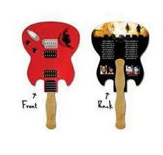 Hand Fan, Concert ideas, Promotional item