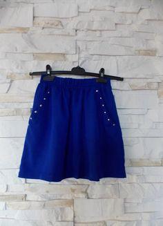 Kup mój przedmiot na #vintedpl http://www.vinted.pl/damska-odziez/spodnice/15874235-ciemnoniebieska-spodnica-z-kieszeniami-xss