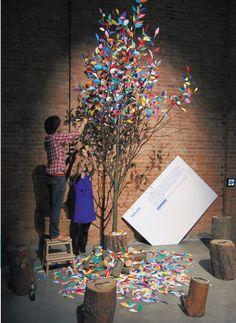 Lovely tree decoration ideas