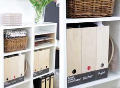 9 Schöne Und Funktionale Ideen Für Deinen Arbeitsbereich ... Home Office Ideen