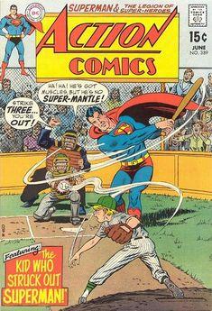 #Superman #Baseball