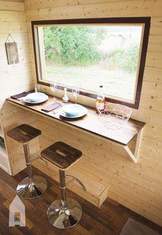 Elle crée une tiny-house en France et prouve que tout est possible ! - http://centophobe.com/elle-cree-une-tiny-house-en-france-et-prouve-que-tout-est-possible/