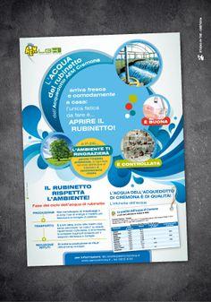 Acqua del Rubinetto ADV © Studio Pi Tre (Cremona - Italy)