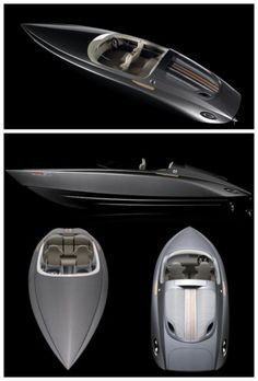 Porsche Fearless Speedboat. Do you need a speedboat to match your ride? Hit the pic for awesomeness! #spon #luxury