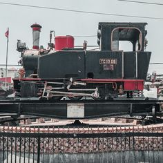 City Scene, Train, Strollers