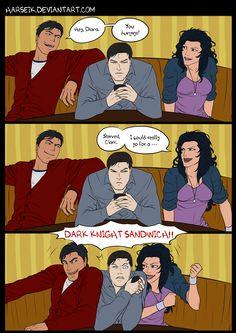Dark Knight Sandwich=