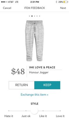Some days I just wanna wear sweats, but these are cute sweats