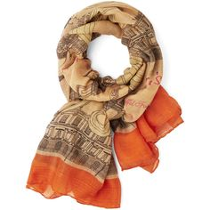 French See and Be Seine Scarf by ModCloth ($20) ❤ liked on Polyvore featuring accessories, scarves, cream and fashion scarf