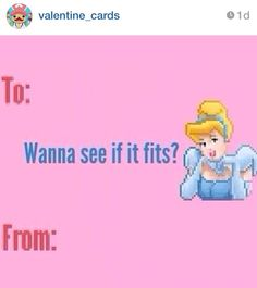 This Instagram Account Is Hilarious @valentine_cards Funny Valentines Day  Cards. Cinderella