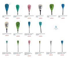 Buy our SUP paddles online...