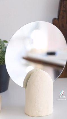 Diy Air Dry Clay, Diy Clay, Clay Crafts, Diy Crafts Hacks, Diy Home Crafts, Diys, Diy Francais, Clay Art Projects, Diy Canvas Art