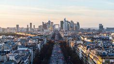 La Défense peu avant le coucher de soleil by Pierre Paqueton, on Flickr