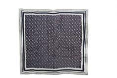 Navy wheel scarf, $19.99