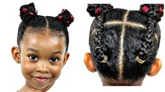 natural hairstyles for afro hair Little Girls Natural Hairstyles, Little Girl Haircuts, Baby Girl Hairstyles, Natural Hairstyles For Kids, Kids Braided Hairstyles, Trendy Hairstyles, Party Hairstyles, Hairstyles 2016, Short Haircuts