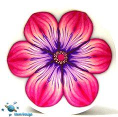 Pink purple flower cane | Flickr - Photo Sharing!