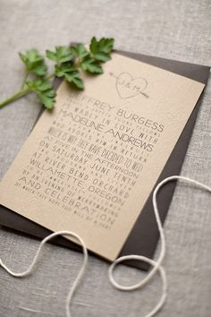 Charming and whimsical Faux Bois wedding invitations featuring embossed Gmund paper, original & whimsical wording, vintage engravings, and hand drawn type.