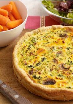 VELVEETA Egg & Veggie Bake – Every bite of our creamy, cheesy egg & vegetable bake is bursting with mushroom-broccoli goodness.