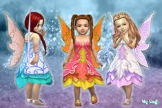 Fairy Dress for Toddlers at My Stuff • Sims 4 Updates