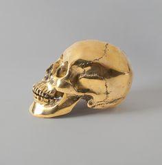 Decorative Brass Skull from HomeMint's new line w/Justin Timberlake