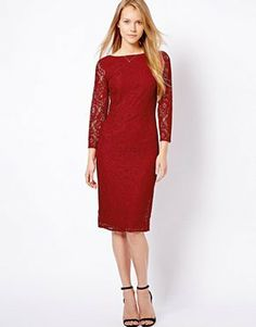b61ff6db240 Top Dress Brands - Oasis 3 4 Sleeve Lace Midi Dress