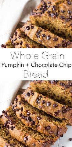 Whole Wheat Pumpkin Bread