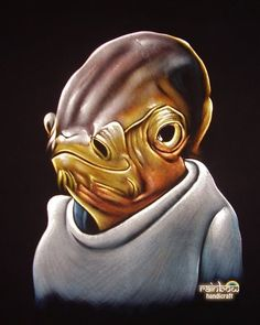My neighbors have one of these. Ackbar is the man. Star Wars Art, The Man, Velvet, Sweater, Stars, Fictional Characters, Admiral Ackbar, Jumper, Sweaters