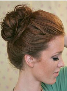 Super Easy Knotted Bun Updo And Simple Bun Hairstyle!!! #Fashion #Beauty #Trusper #Tip