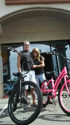 Dan & Denise's Motiv is to be stoked with their Long Range Motiv Matte Black Spark and the exclusive Hot Pink Sleek.