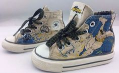 bba59b032a358 batman dc comics converse infant size us 5 eur21 discontinued style used  rare from  1999