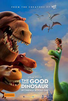 Disney Pixar- The Good Dinosaur The Good Dinosaur, Dinosaur Movie, Dinosaur Posters, Film Pixar, Pixar Movies, Cartoon Movies, Animation Movies, Animation Studios, Disney Films