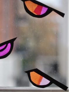 10 Mother's Day crafts for kids   Today's Parent- Stained glass birds