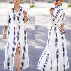 ME MADE MUST HAVE 4 OF 10: THE PERFECT BUTTON UP SHIRT DRESS - Mimi G Style