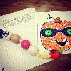 Make a pumpkin and describe it with EETchy! #favehalloweentx  #slpeeps #schoolslp #Padgram