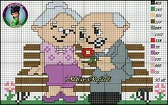 Grandparents x-stitch