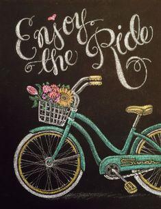 Spring Chalkboard Art 19
