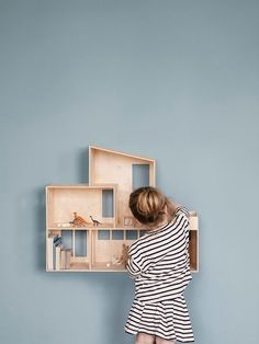 Miniature Funkis Doll House design by Ferm Living #diyplayhouse