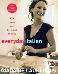 One of my favorites - simple, delicious, authentic Italian. No schmancy wierd ingredients. Takes me back to my childhood. If my mother actually ever wrote down recipes...it would be this book. Love you Giada!!