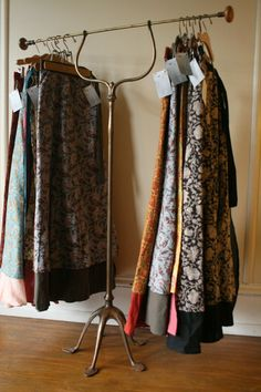 DIY: How to Build A Vintage Clothing Display for Craft and Trunk Shows