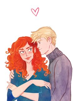 Scorpius and Rose by Hilly Minne Art