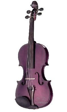 I'm becoming more and more interested in playing the violin. This one is so pretty!