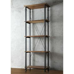 Tribecca Home Myra Vintage Industrial Modern Rustic 3-piece Desk Bookcase Set | Overstock.com Shopping - Great Deals on Tribecca Home Desks