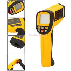 Gm1850 Lcd Non Contact 80 1 Digital Laser Temperature Gun Infrared Ir Thermometer Range 200 1850 Centigrade #Affiliate