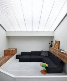 Polycarbonate house roof -- multi-celled provides insulation and UV protection -- while allowing in daylight. Melbourne