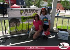 Dog Scavenger Hunt in Carrollton, Texas for the Paws on the Square community event Thrill of the Hunt 5/14/16 #ThrillofHunt #ScavengerHunt